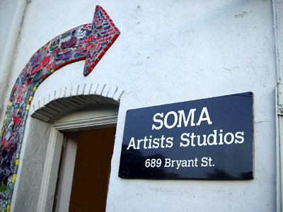 Image of Map to Soma Artists Studios
