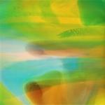 """Kristina  Quinones, """"Detect"""", 12""""x12"""", Acrylic on Panel"""