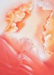 """Janet Seifert """"Sun Clouds No.3"""" acrylic on canvas, 21"""" high x 15"""" wide beginning bid: $200 ( $600 value)"""