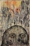 "Skye MacLeod, ""Sunrise Wisdom"",  encaustic"