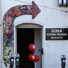 SOS . . . SAVE our STUDIOS! 21 months to go, then SOMA Artists Studios will be no more.