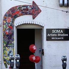 SOMA ARTISTS STUDIOS –Last Open Studios– Oct 30th / 6 to 9pm / Sat & Sun Oct 31st/ Nov 1st–11am-6pm